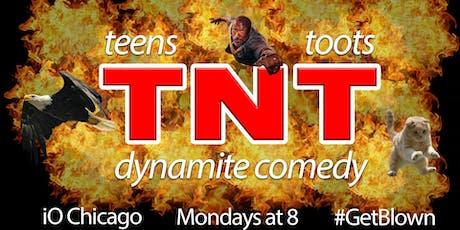 TNT: Teens N' Toots tickets