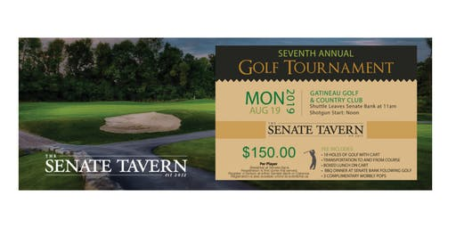 7th Annual Senate Tavern Golf Classic