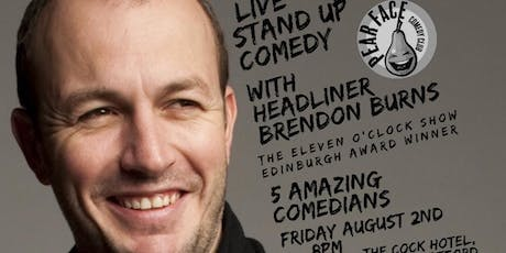 Live Stand up Comedy with headliner Brendon Burns tickets