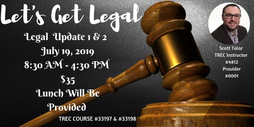 Legal Update 1 & 2