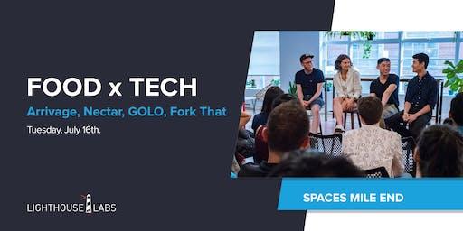 Food & Tech: Arrivage, Nectar, GOLO/PoutineWeek, Fork That