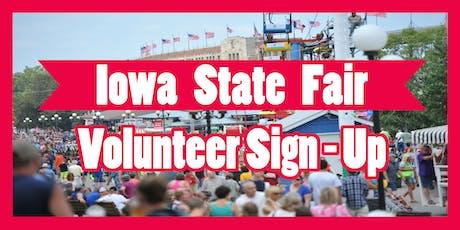 Iowa GOP State Fair Volunteer Sign Up tickets