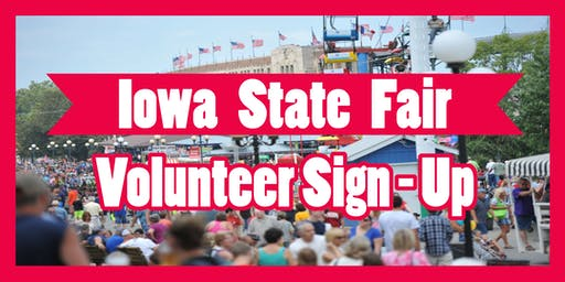 Iowa GOP State Fair Volunteer Sign Up