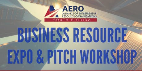 AERO Small Business Expo & Pitch Workshop tickets