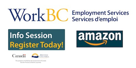 Ladner WorkBC Information Session - Amazon tickets