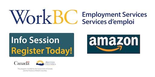 Ladner WorkBC Information Session - Amazon