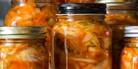 Atelier kimchi et légumes fermentés - Montréal billets