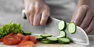 Cook Smart, Eat Smart School Session 3: Knife Skills & Portion Control