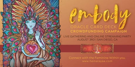 Embody Oracle Card Deck Crowdfunding Launch Party! tickets