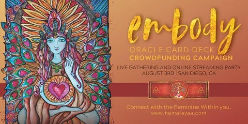 Embody Oracle Card Deck Crowdfunding Launch Party!