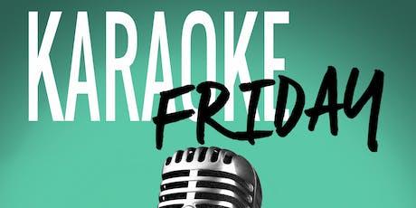 Karaoke Friday! tickets