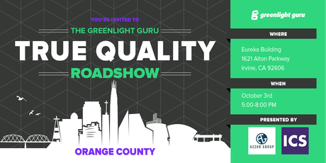 The True Quality Roadshow - Orange County tickets