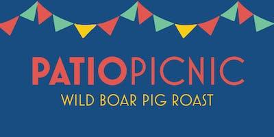 Patio Picnic   Wild Boar Pig Roast