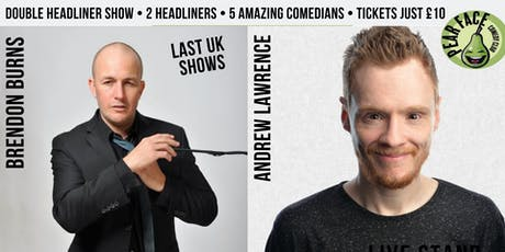 Live Stand up Comedy with headliners Andrew Lawrence and Brendon Burns tickets