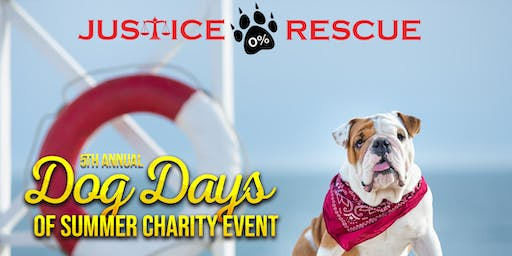 Dog Days of Summer Charity Event