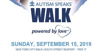 Autism Speaks NYC Walk Volunteers