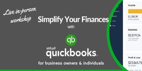 QuickBooks Workshop: Simplify Your Finances with QuickBooks  (Live Instructor-Led) tickets