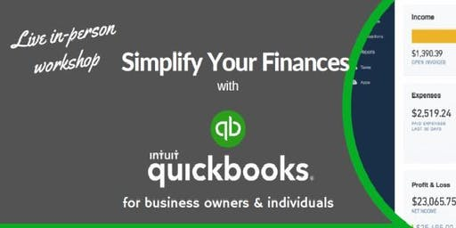 QuickBooks Workshop: Simplify Your Finances with QuickBooks  (Live Instructor-Led)
