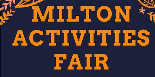 Milton Activities Fair 2019