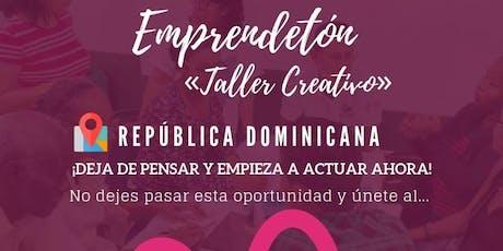 """Emprendetón: """"Taller Creativo para Emprendedores"""" entradas"""