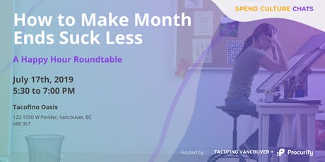 Spend Culture Chats: Making Month Ends Suck Less (Tacos & Beer Roundtable) tickets