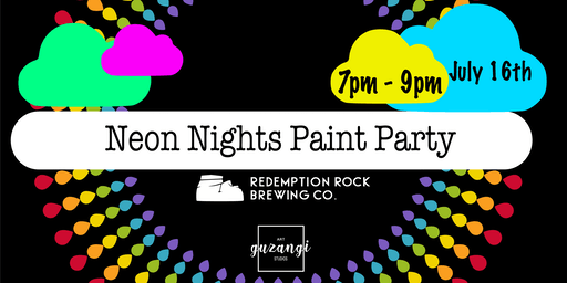 Neon Nights Paint Party