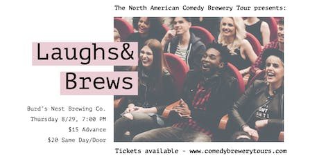 The North American Comedy Brewery Tour at Burd's Nest Brewing Co. tickets