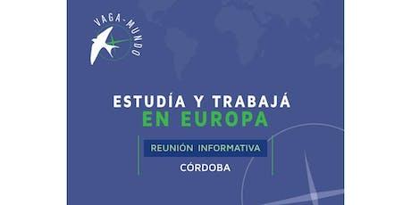 Vaga-Mundo Reunión Informativa en Córdoba! entradas