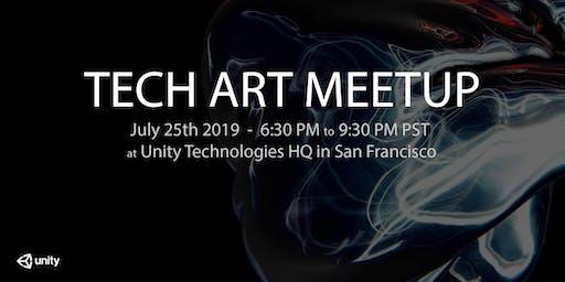 [SF BAY AREA] TECHNICAL ARTIST MEET-UP @ UNITY TECHNOLOGIES HQ