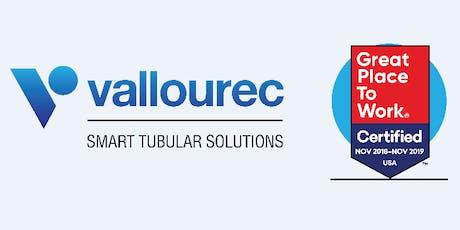 Vallourec Tube-Alloy Houma Manufacturing Career Fair tickets