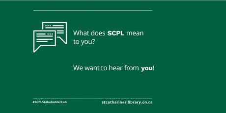 St. Catharines Public Library Central Branch: Stakeholder Lab tickets