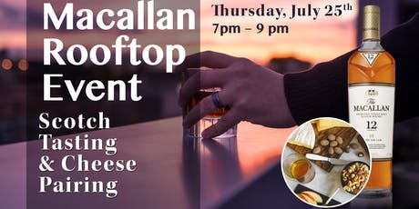 Macallan Rooftop Tasting tickets