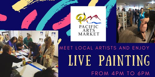 Live Painting and Meet the Artists!