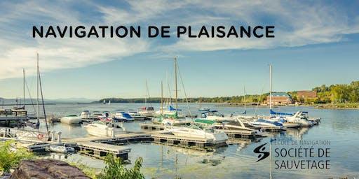 NOUVEAU ! Navigation de plaisance-33 h (19-73EL) - En Ligne