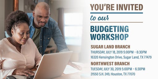 Budgeting Workshop-Northwest