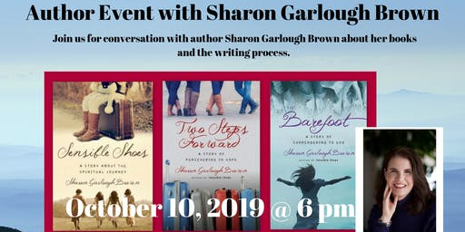 Author Event with Sharon Garlough Brown