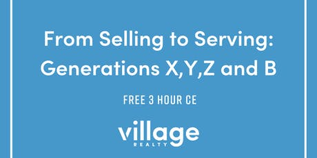 From Selling to Serving: Generations X,Y,Z and B tickets