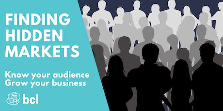 Finding Hidden Markets for Business Growth tickets
