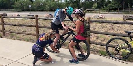 Women's mountain biking basics clinic + social ride tickets