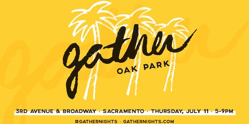 SPONSORSHIP PACKAGE - GATHER: Oak Park