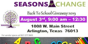 Seasons of Change 8th Annual Back 2 School Giveaway