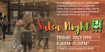 Salsa Night at the Bean!