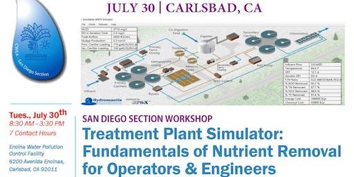 SDS CWEA - Treatment Plant Simulator Workshop
