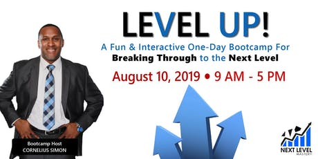 Level Up! Bootcamp - San Diego tickets