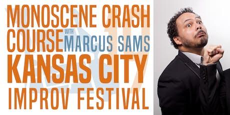 KCIF19 Workshops - Monoscene Crash Course w/ Marcus Sams tickets