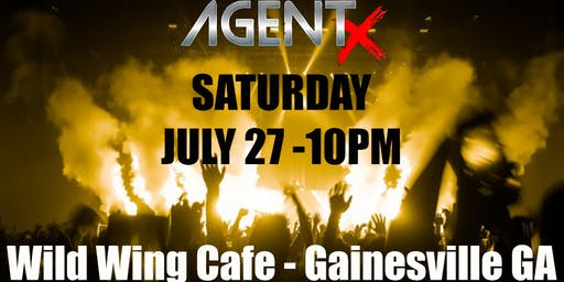 AgentX LIVE at Wild Wing Cafe