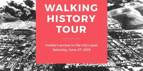 Walking History Tour tickets