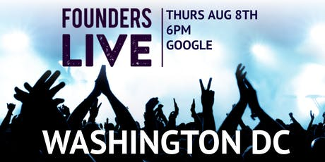 Founders Live DC tickets