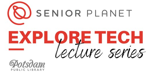 Senior Planet Explore Tech Lecture Series: Cloud Storage
