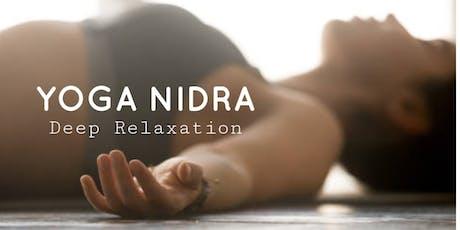 Yoga Nidra for Deep Relaxation tickets